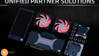 Фото EKWB показала водоблоки для видеокарт AMD Radeon RX 6000 и процессоров Ryzen 5000