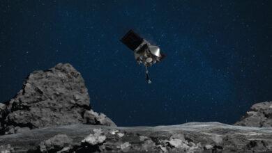 Фото На следующей неделе зонд OSIRIS-REx попробует взять кусочек астероида Бенну