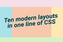 Фото [Перевод] 10 современных раскладок в одну строку CSS-кода